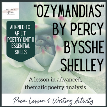 """Ozymandias"" Poem Study"