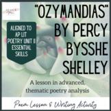 Ozymandias Poem Lesson