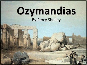"""Ozymandias"" by Percy Bysshe Shelley"