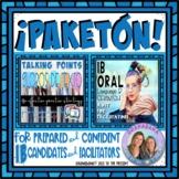 ¡PAKETÓN! IB Speaking Points and Kit   Language B Oral   S