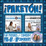 ¡PAKETÓN! AP Spanish Bundle for Free Response Writing Revision