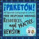 ¡PAKETÓN! AP Spanish Free Response Writing Practice Bundle