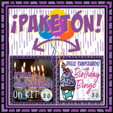 ¡PAKETÓN! ¡Feliz Cumpleaños! Birthday Kit + Bingo * So Fun!