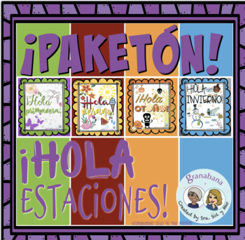 ¡PAKETÓN! * ¡Hola 4 Estaciones! * Hello 4 Seasons! * Welcome Seasons!