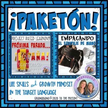 ¡PAKETÓN! Project Based Learning for End of Year Spanish Advanced Proficiency