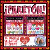 ¡PAKETÓN! San Valentin   Valentine's Day   Digital Sticker