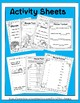 ¡PAVOS TONTOS!-Spanish numbers song,color&cut flash cards,activity sheets