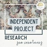Digital Research Project (Google Slides) - Sea Creatures