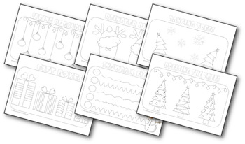 {WINTER HANDWRITING PRACTICE} {COLOURING PAGES} {Penmanship practice}