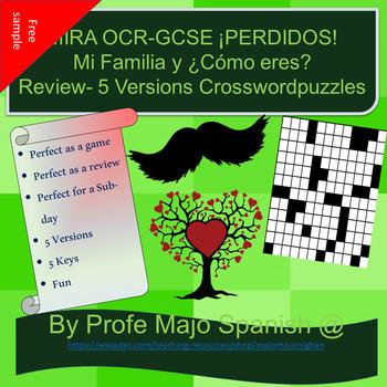 ¡PERDIDOS!- Mi familia y ¿Cómo eres? - MIRA OCR/GCSE HiGHHER (book)