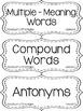 {PINK, TEAL, NAVY} Journeys 3rd Grade Reading Focus Wall Set