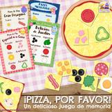 ¡PIZZA, POR FAVOR! IMPRIME Y JUEGA - Juego de Memoria / Ma