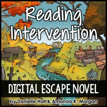 Reading Intervention Escape Rooms - Burnbridge Breakouts (complete series)