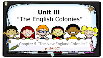 PPT  US History Chapter 5 The New England Colonies Presentation