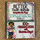 Reading and Writing Units: Vol 3 Better Than Basal HARD COPY Book