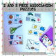 Differentiated Association Puzzles--Speech Therapy (Categories and Associations)