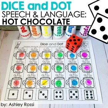 Hot Chocolate Speech Therapy Activities | Articulation and Language