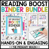 Reading Boost Binder Growing Bundle   Phonics and Sight Wo