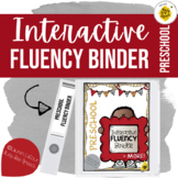 {PRESCHOOL} Interactive Fluency Binder