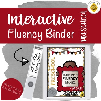 {PRESCHOOL} Interactive Fluency Binder