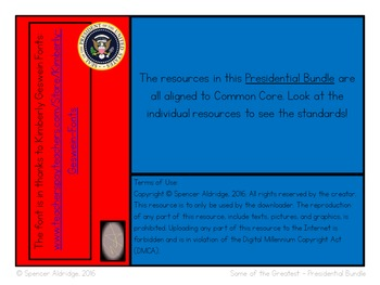 **PRESIDENTIAL BUNDLE** Who Was? - Some of the Greatest U.S.Presidents