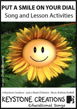 'PUT A SMILE ON YOUR DIAL!' (Grades Pre K-3) ~ Song Package l Distance Learning