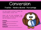 [PUZZLE] Conversion fraction-pourcentage-nombre décimal