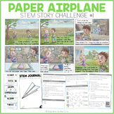 """Paper Airplane"" Stem Story Challenge"