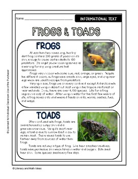 (Paper) Frog Dissection