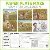 """Paper Plate Maze"" Stem Story Challenge"