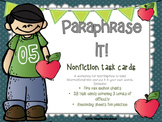{{Paraphrase It! A Workshop for Paraphrasing and Note-taking Skills}}