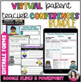 Parent Teacher Conferences Editable Forms Sign Up Bundle