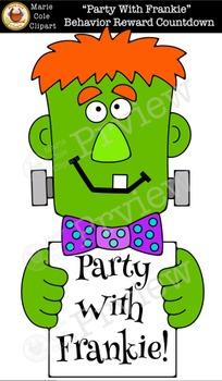 """Party With Frankie"" Behavior Countdown Reward"