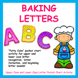 """""""Patty Cake"""" Pocket Chart Activity - (Upper & Lower Case Letter Recognition)"""