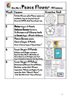 """Peace Flower""- 10 Lessons"