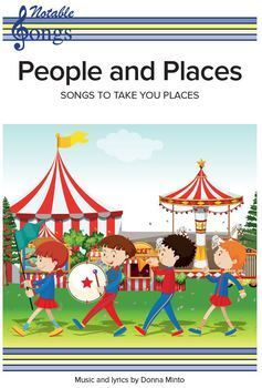 """""""People and Places"""" - a collection of songs"""