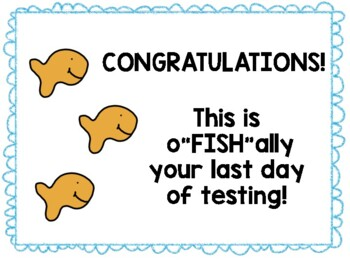 *Personalized* Testing Motivation Treat Cards