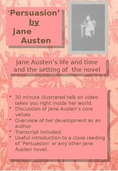 'Persuasion' by Jane Austen - Background