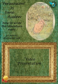 Persuasion By Jane Austen  How To Write The Literature Essay Persuasion By Jane Austen  How To Write The Literature Essay  Essay On English Language also Do My Report  Student Life Essay In English