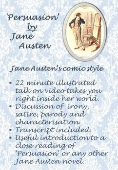 'Persuasion' by Jane Austen - Jane Austen's comic style