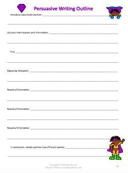 Persuasive Writing BUNDLE: Peer Editing & Rubrics 2nd-12th & Halloween Prompts