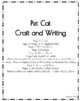 Pet Cat Craft and Writing (Animal Research)