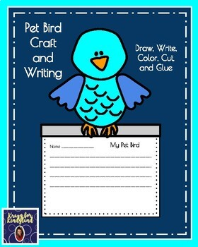 Pet Craft and Writing Pack: Bird, Fish, Dog, Cat, Snake (Animal Research)
