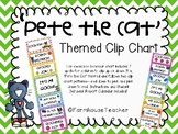 'Pete the Cat' Themed Behavior Clip Chart