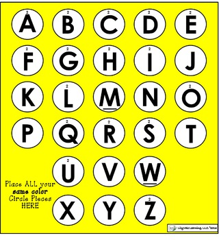 """**Phonemic Awareness """"Connect Four""""- Great for Literacy Centers!**"""