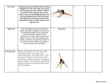 [Phys Ed] [Grades 3-5] Fitness Unit Theme Activities