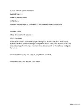 [Phys Ed] [Grades K-5] Lifetime Activities Theme