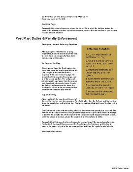 [Physical Education] Football - Unit Planner, Lessons Agenda