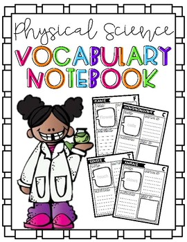 {Physical Science} Student Vocabulary Notebook