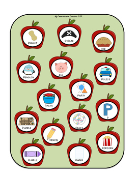 {Pick the Apples} Speech Therapy Game for Initial /P/